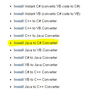 Converter screen