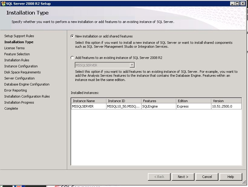 sql server 2008 r2 express edition with advanced services