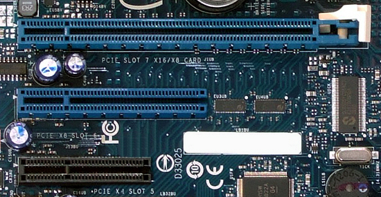 PCIe Open end