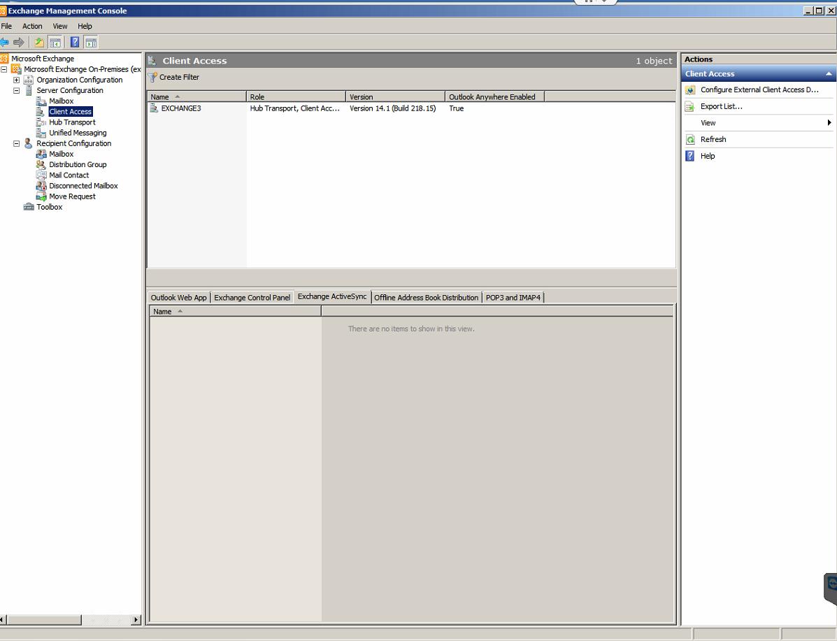 EMC - Exchange ActiveSync Mailbox Policies tab - is missing