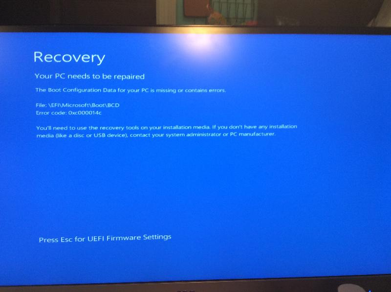 Guys this is the screen I get even when trying to boot from factory backup disk.