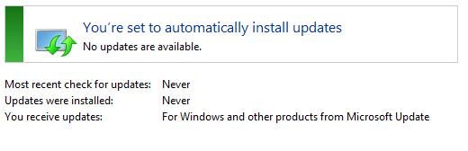 So that windows update is like so