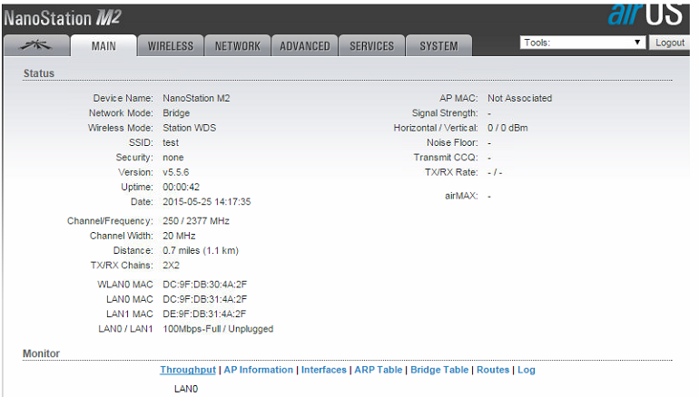 How to setup a basic Point to Point link using Ubiquiti