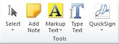 Nitro Reader editing tools