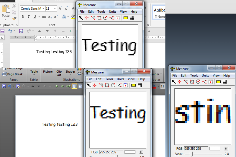 color shading in Word 2010