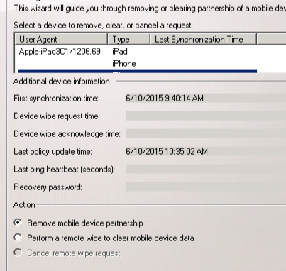 MobileDeviceManager