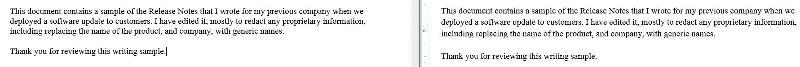 Word Line Spacing Problem