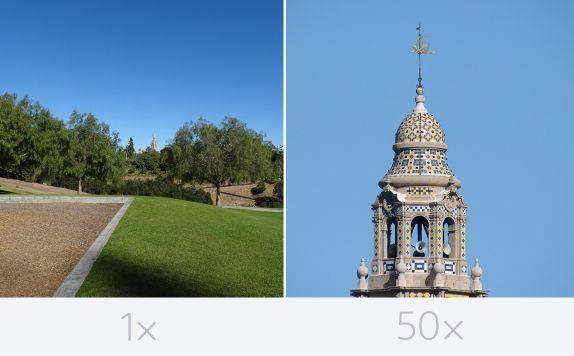 50x zoom