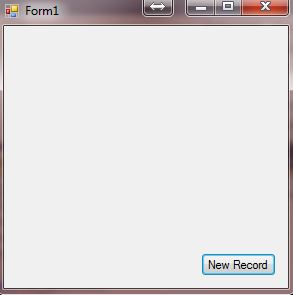 Again we have form 1 with a new record button on it.
