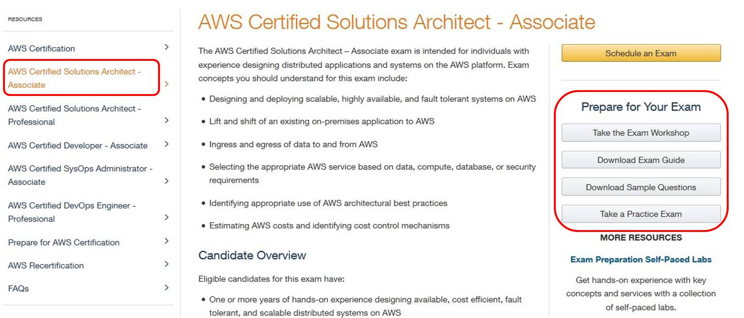 Hints tips when preparing for the aws amazon web services prepare for your examg xflitez Gallery