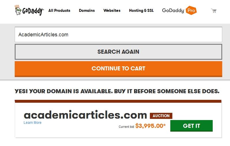 AcademicArticles domain