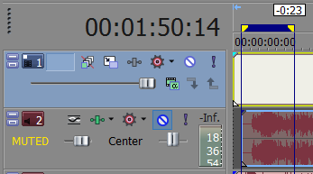 in my video editor