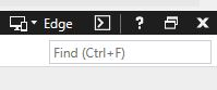 IE mode in developer tools