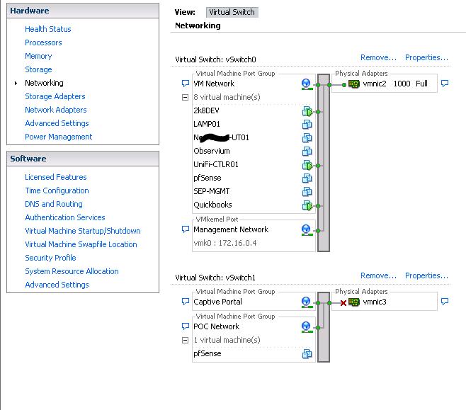 PfSense 2 2 as firewall on VMware ESXi 5 5