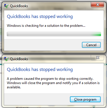Windows error messages don't offer much detail