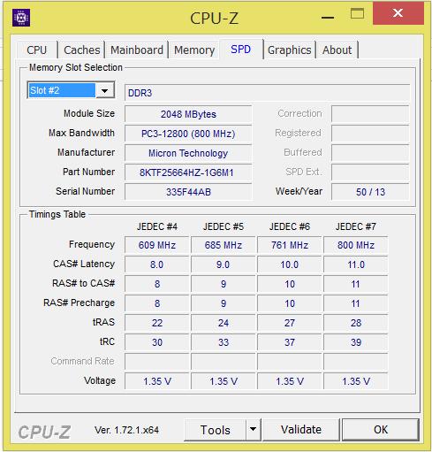 Dell Inspiron 15R Slot 2
