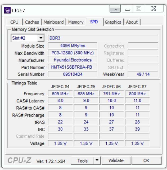Dell Inspiron 7548 Slot 2