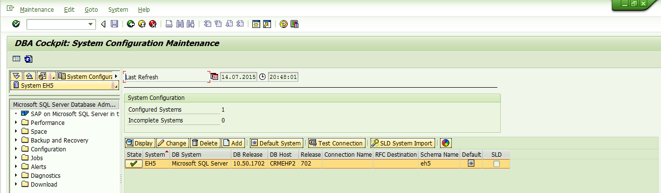 Exploring SAP at database level using Sql Command Editor in