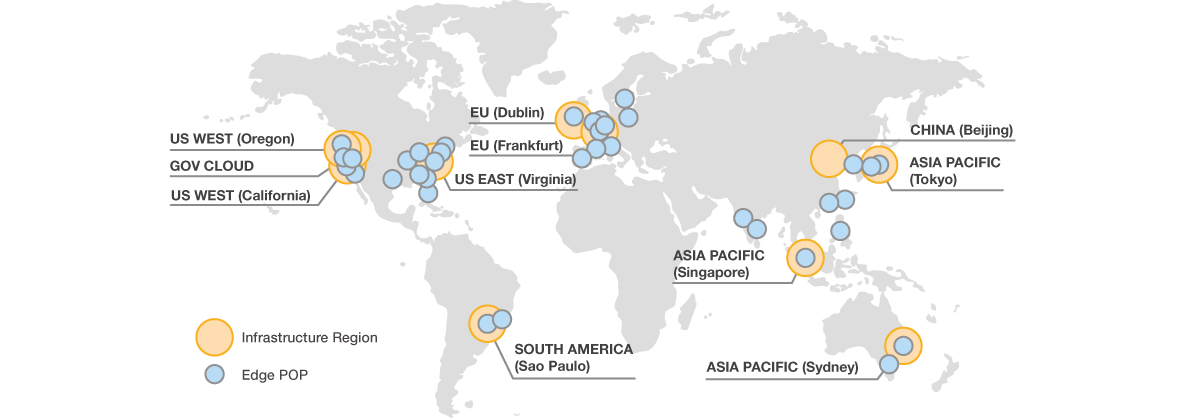 aws regions availability zones and edge locations explained