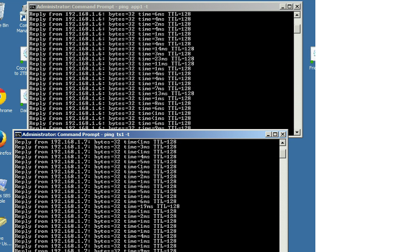 Ping from Virtual Machine