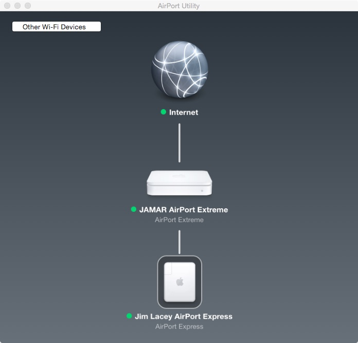 Airport Express network extension
