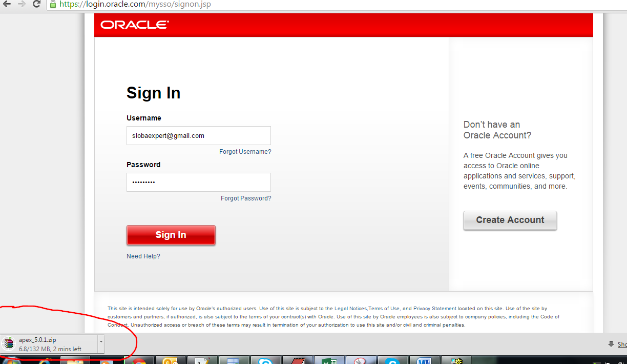 Upgrading Oracle APEX to Oracle Application Express Release