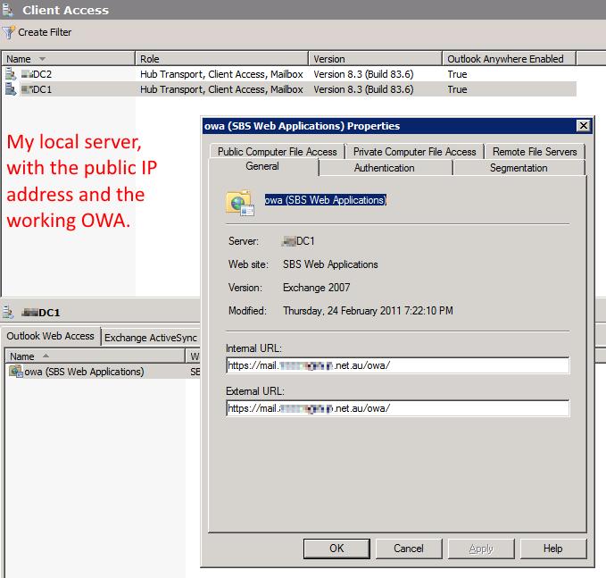WA server settings