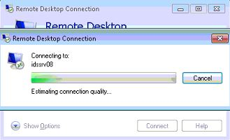 RDP Connection Timeout
