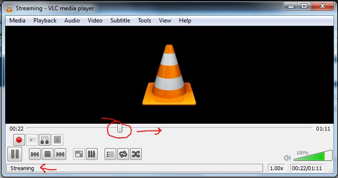 VLC converting
