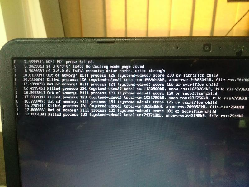 Trying to boot from ubuntu