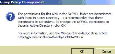 GPO Permission assignment failure