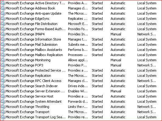 Exchange Services