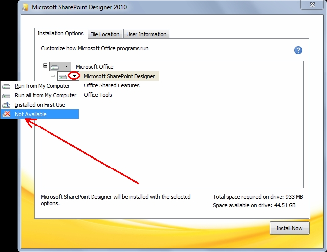 how to reinstall windows office 2010