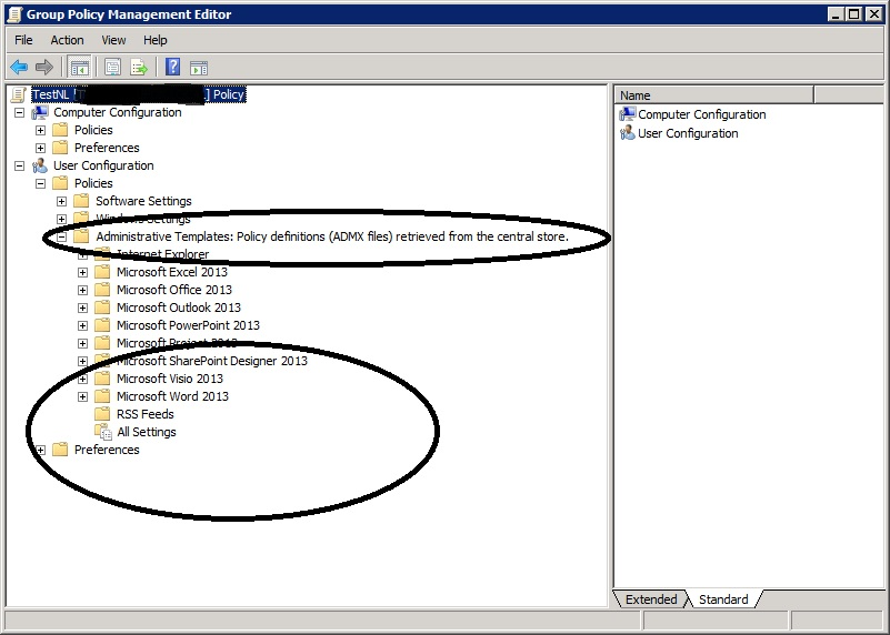 SOLUTION] Group Policy not showing ADM