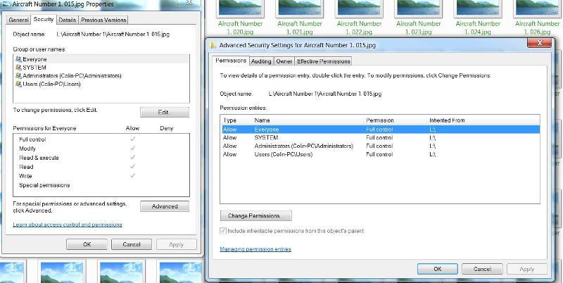 jpg file permissions