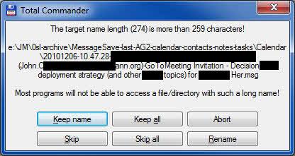 TotCmd copy long filename