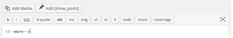 Snapshot image of WordPress toolbar that is just plain wrong.