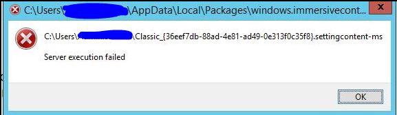 Cannot Open Certain Control Panels - DCOM error 10010