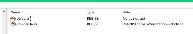 Provider order before script runs