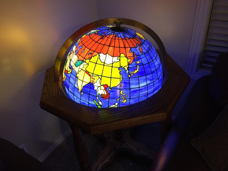 globe portrait