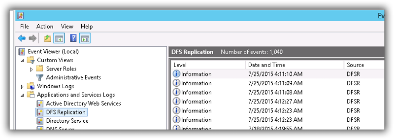 DFS Replication