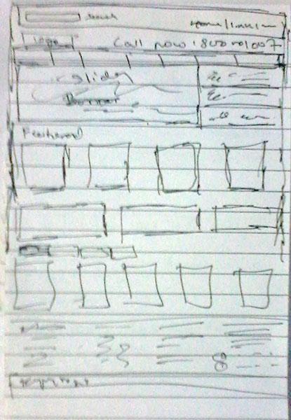 A simple sketch