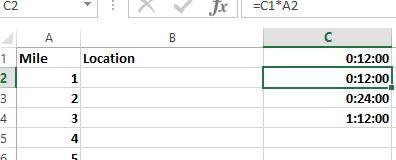 Excel Copy Forumula