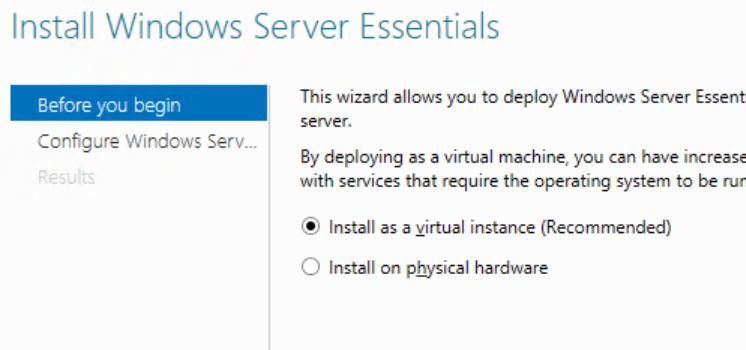 Windows server 2012 r2 essential shut itself down