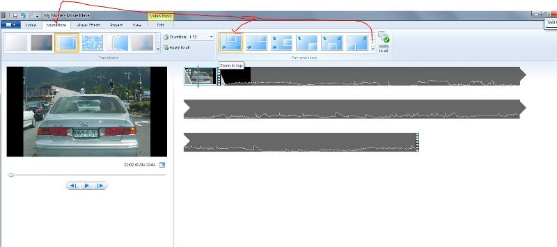 WMM video tools animations zoom