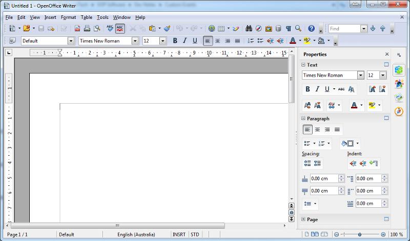 Open Office UI