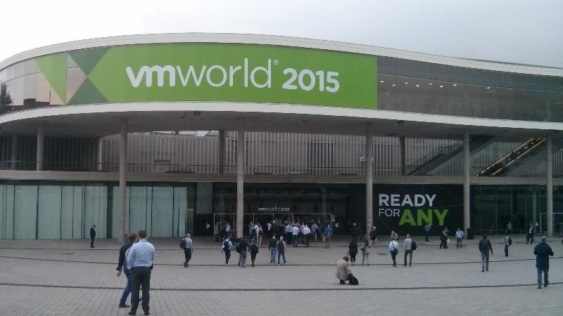 VMworld 2015, Barcelona