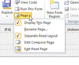 Compose and Read pages