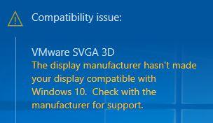 Window error msg
