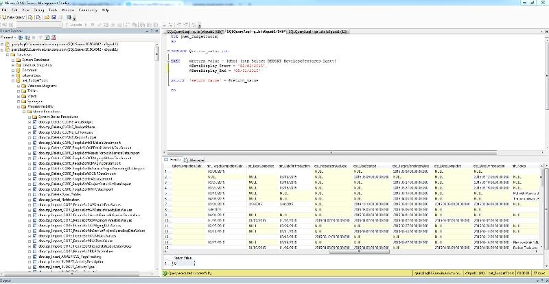 MSSQL Studio screenshot